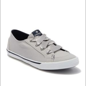 Sperry Satin Lace Up Sneakers